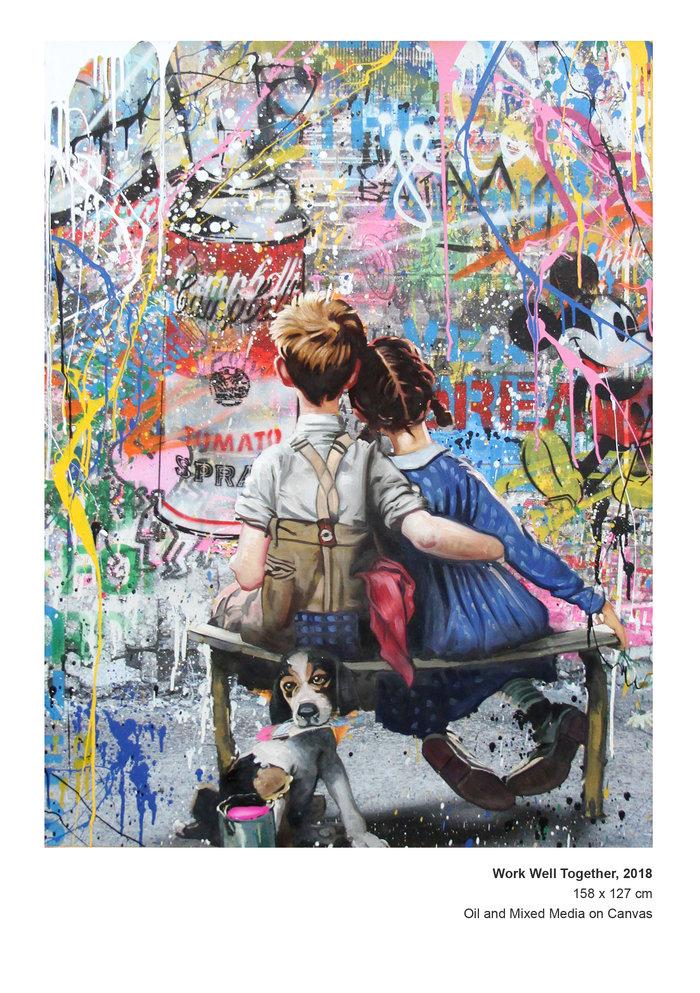 Ο προκλητικός street art καλλιτέχνης Mr. Brainwash εκθέτει στη Μύκονο - εικόνα 4