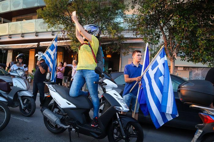 Μηχανοκίνητη πορεία για το Μακεδονικό στη Θεσσαλονίκη - Εικόνες - εικόνα 3
