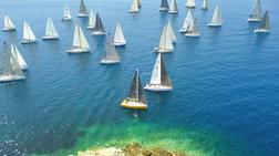 """Σε εξέλιξη ο ιστιοπλοϊκός αγώνας ΚΥΚΛΑΔΕΣ 2018 """"Cyclades Regatta"""""""