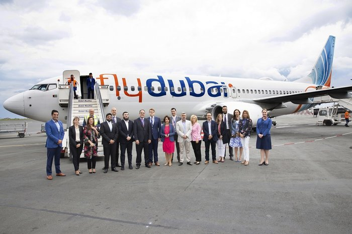 Οι εκπροσώποι της flydubai και της Emirates Fraport