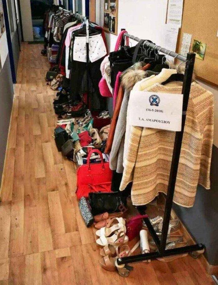 «Ρούχα ελληνικά με το κιλό» με κλεμμένα από εμπορικά κέντρα