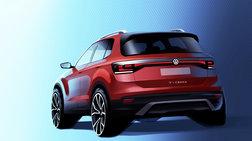Το λιλιπούτειο SUV Volkswagen T-Cross αποκαλύπτεται