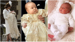 Η βάπτιση του μικρού πρίγκιπα-Το «δανεικό» βαπτιστικό και η σταρ μαμά του