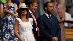 Πίπα Μίντλετον: Στις κερκίδες του Wimbledon με το πιο όμορφο λευκό φόρεμα
