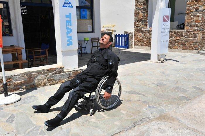 Μάνθος Μάρρας: Κατάδυση στον βυθό με τον πρώτο παραπληγικό εκπαιδευτή - εικόνα 4