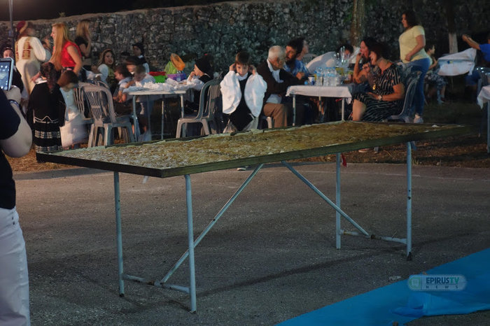 Αυτή είναι η μεγαλύτερη παραδοσιακή λαχανόπιτα της Ηπείρου - εικόνα 3