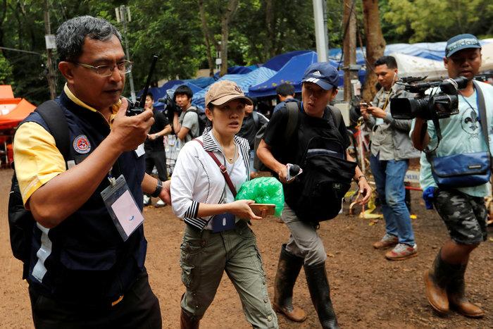 Ενα-ένα θα βγάζουν τα παιδιά από το σπήλαιο στηνΤαϊλάνδη - εικόνα 5