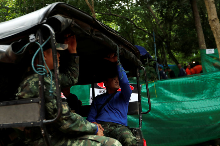 Ενα-ένα θα βγάζουν τα παιδιά από το σπήλαιο στηνΤαϊλάνδη - εικόνα 7