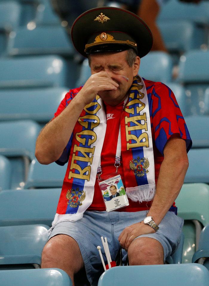 Τα δάκρυα των Ρώσων για το... τέλος τους στο Μουντιάλ - εικόνα 3