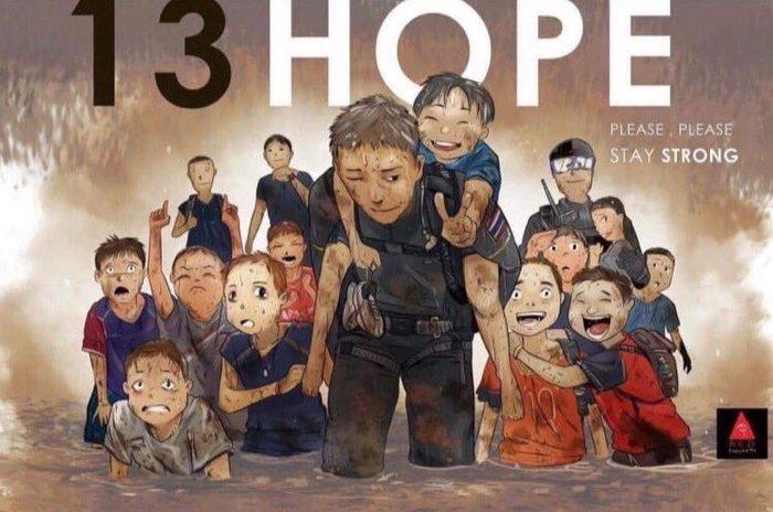 Τα συγκλονιστικά σκίτσα για τα παγιδευμένα παιδιά στην Ταϊλάνδη - εικόνα 2