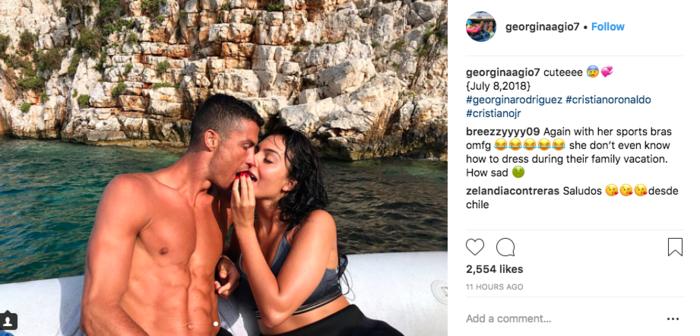 Ρονάλντο: Kαυτά φιλιά στον ήλιο της Μεσσηνίας