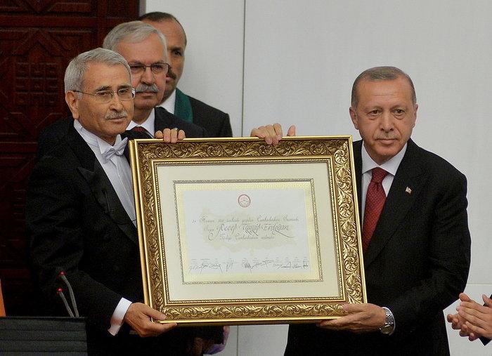 Τουρκία: Ορκίστηκε ο Ρετζέπ Ταγίπ Ερντογάν