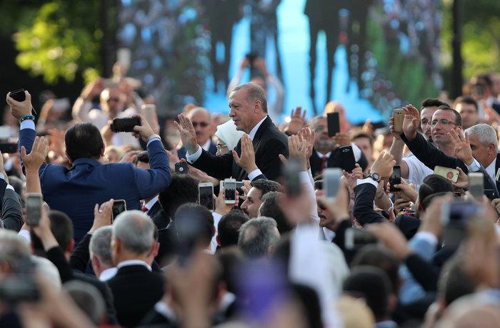 Τουρκία: Ορκίστηκε ο Ρετζέπ Ταγίπ Ερντογάν - εικόνα 2