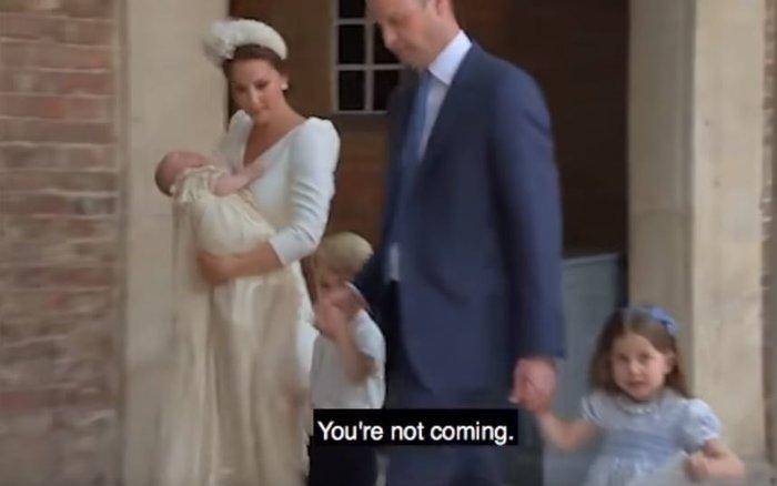 Η Σάρλοτ μάγεψε ξανά: Τι είπε στους φωτογράφους μετά τη βάπτιση [Βίντεο] - εικόνα 2