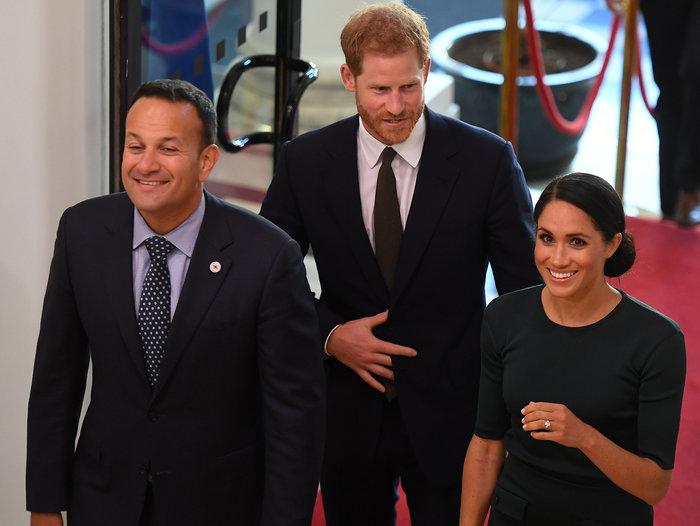 Στο Δουβλίνο πρίγκιπας Χάρι και Μέγκαν: πρώτο επίσημο ταξίδι μετά τον γάμο - εικόνα 4