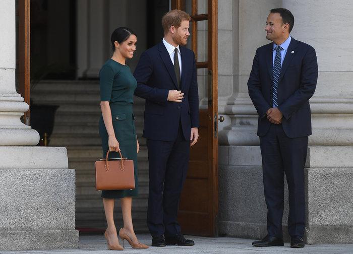 Στο Δουβλίνο πρίγκιπας Χάρι και Μέγκαν: πρώτο επίσημο ταξίδι μετά τον γάμο - εικόνα 6