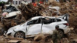 Ιαπωνία: Στους 179 οι νεκροί - Δεκάδες αγνοούμενοι
