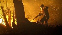 Δεύτερο πύρινο μέτωπο στην Κρήτη - Μάχη με τις φλόγες στην Ιεράπετρα