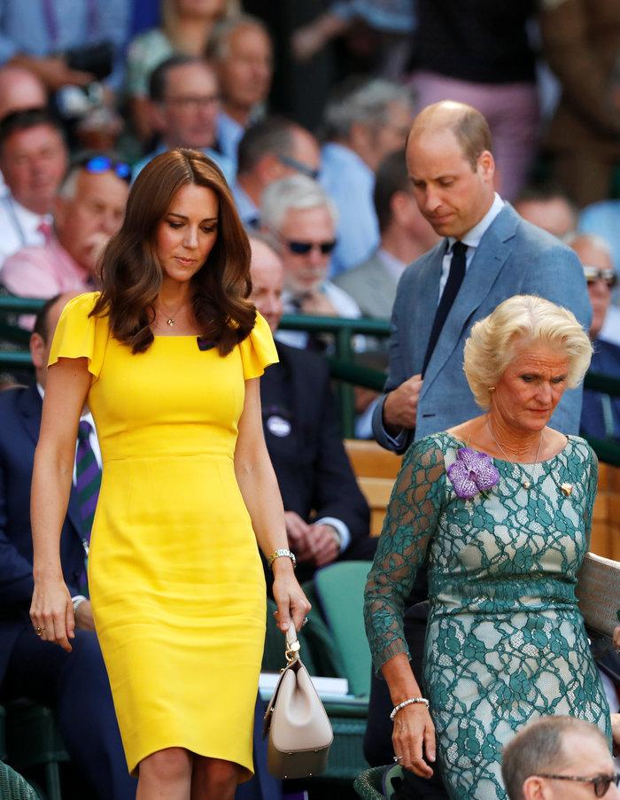 Κέιτ Μίντλετον: Αυτός είναι ο λόγος που φορά κίτρινα στο Γουίμπλεντον