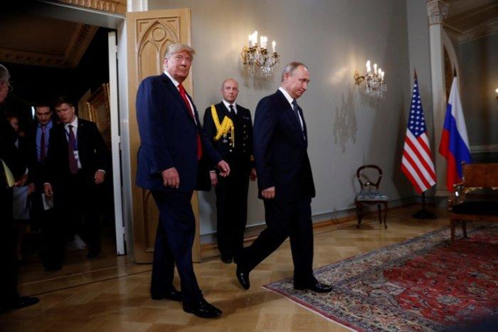 Τραμπ: «Καλή αρχή για όλους» η κατ'ιδίαν συνάντηση με Πούτιν