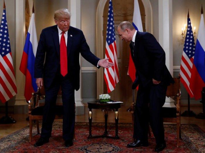 Τραμπ: «Καλή αρχή για όλους» η κατ'ιδίαν συνάντηση με Πούτιν - εικόνα 2