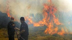 Κρήτη: Σε εξέλιξη πυρκαγιά στο δήμο Γόρτυνας Ηρακλείου