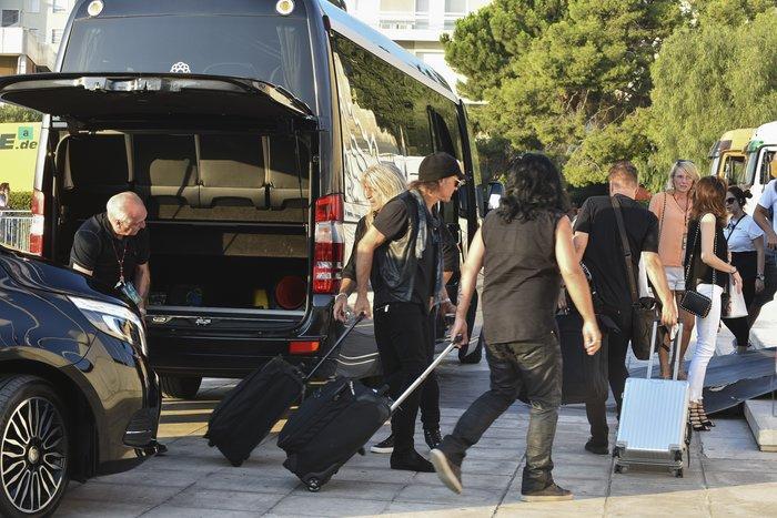 Με προβλήματα η κυκλοφορία λόγω της συναυλίας των Scorpions