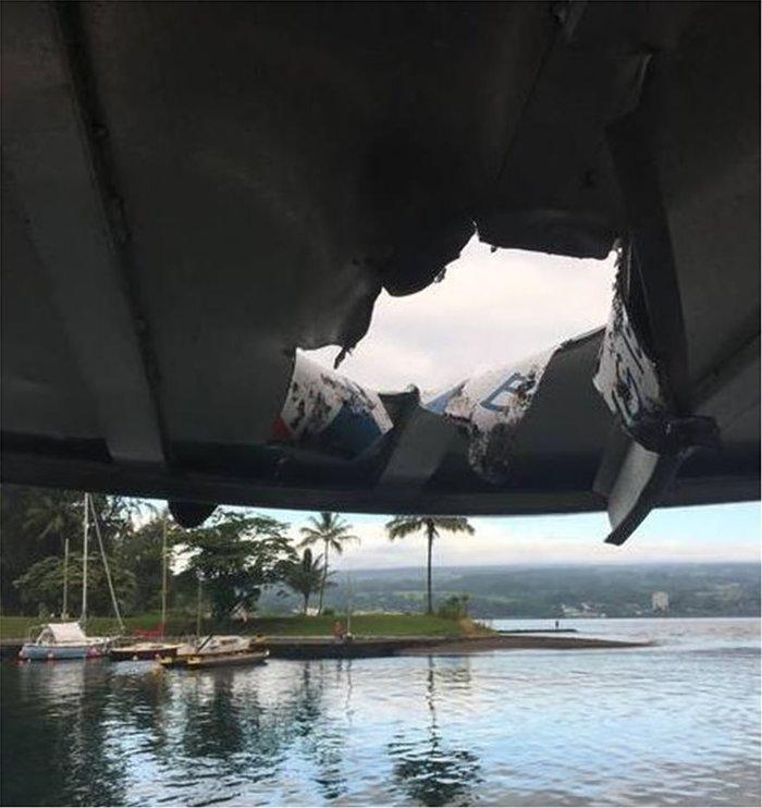 Χαβάη: Λάβα από το Κιλαουέα έπεσε πάνω σε τουριστικό πλοίο! -φωτό