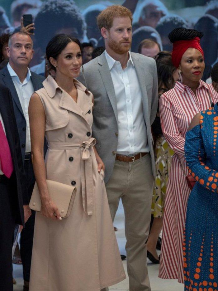 Χάρι και Μέγκαν συναντήθηκαν με την εγγονή του Νέλσον Μαντέλα - εικόνα 2