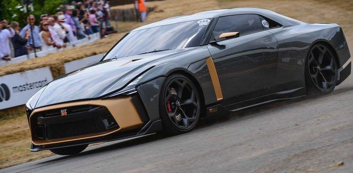 Το τέρας Nissan GT-R50 στο Φεστιβάλ Ταχύτητας Goodwood