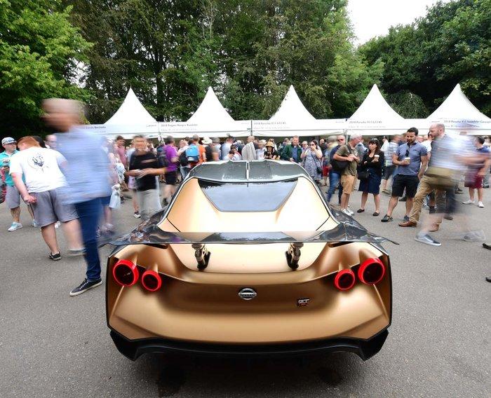 Το τέρας Nissan GT-R50 στο Φεστιβάλ Ταχύτητας Goodwood - εικόνα 2