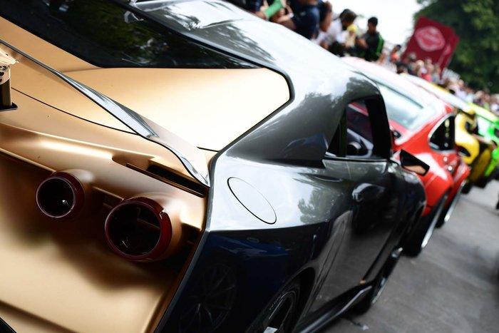 Το τέρας Nissan GT-R50 στο Φεστιβάλ Ταχύτητας Goodwood - εικόνα 3