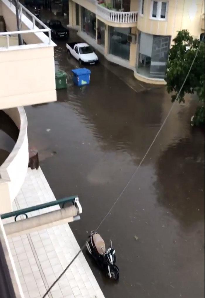 Ζημιές σε Ξάνθη και Καβάλα από την κακοκαιρία (φωτό & βίντεο)