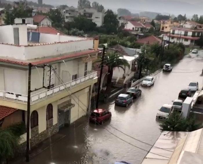 Ζημιές σε Ξάνθη και Καβάλα από την κακοκαιρία (φωτό & βίντεο) - εικόνα 2