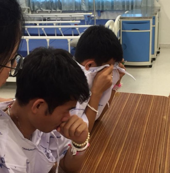 Εξιτήριο για τους 12 «Αγριόχοιρους» της Ταϊλάνδης-Βίντεο - εικόνα 4