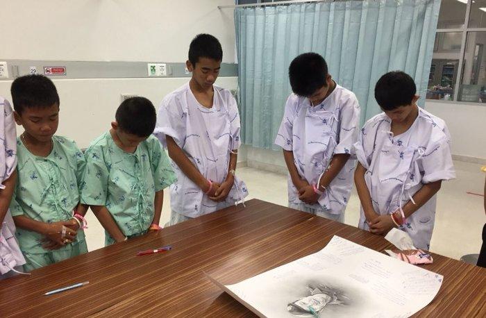 Εξιτήριο για τους 12 «Αγριόχοιρους» της Ταϊλάνδης-Βίντεο - εικόνα 5