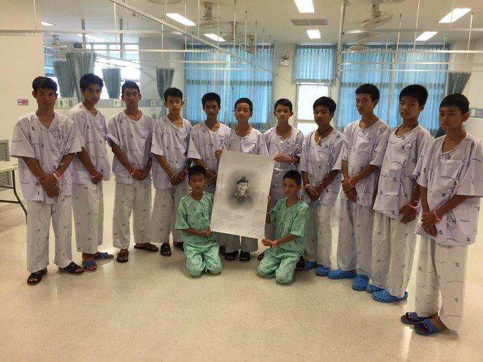 Εξιτήριο για τους 12 «Αγριόχοιρους» της Ταϊλάνδης-Βίντεο - εικόνα 6