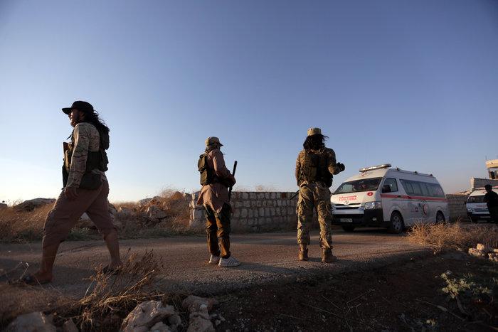 Eκκενώθηκαν προπύργια των τζιχανιστών στη βορειοδυτική Συρία - εικόνα 4