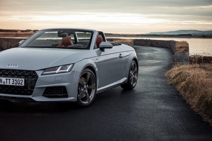Αυτό είναι το επετειακό Audi TT για τα 20 χρόνια του μοντέλου