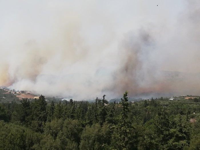 Χανιά: Σε εξέλιξη η μεγάλη πυρκαγιά στον Αποκόρωνα - Βίντεο - Εικόνες