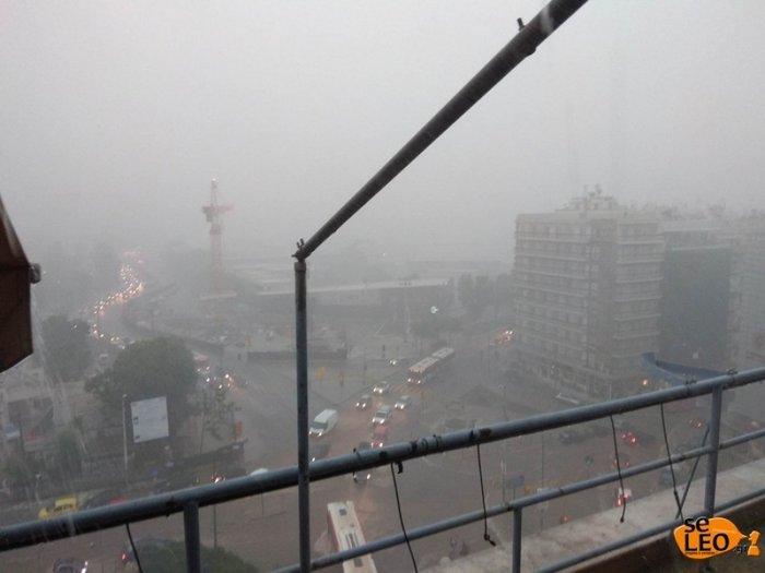 Θεσσαλονίκη: Προβλήματα λόγω καταρρακτώδους βροχής και χαλαζόπτωσης