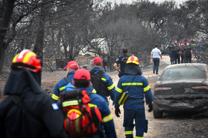 Ανείπωτη τραγωδία: Αγκαλιασμένοι κάηκαν ζωντανοί στην παραλία στο Μάτι - εικόνα 2