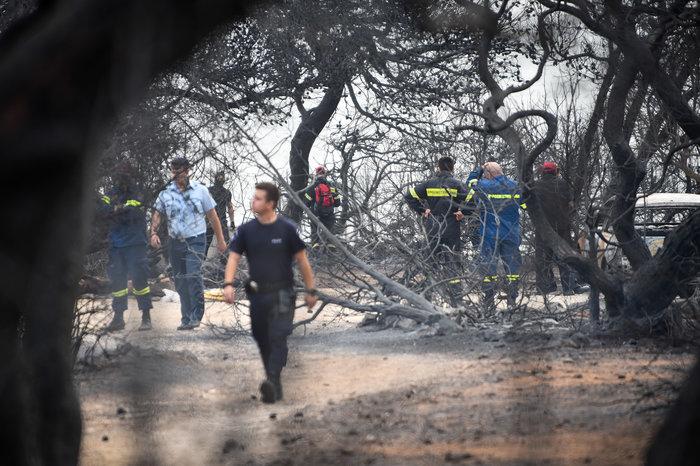 Ανείπωτη τραγωδία: Αγκαλιασμένοι κάηκαν ζωντανοί στην παραλία στο Μάτι - εικόνα 3
