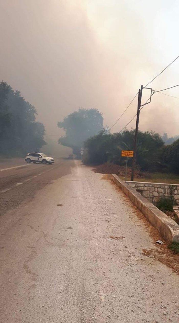 Μάχη με τις φλόγες στα Χανιά - Σε εξέλιξη φωτιά στον Αποκόρωνα