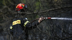 Υπό έλεγχο η φωτιά στα Χανιά, καταγράφουν τις ζημιές