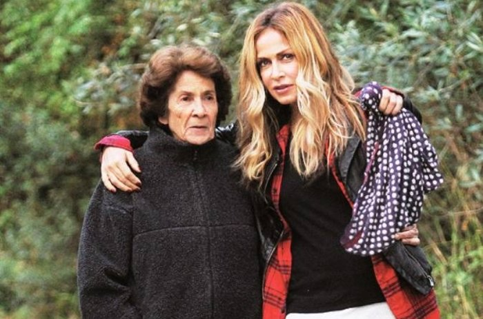 Η Άννα Βίσση με τη μητέρα της Σοφία