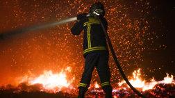 Αλεξανδρούπολη: Υπό μερικό έλεγχο η φωτιά στο Σουφλί