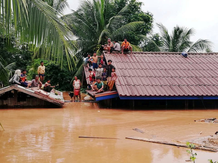 Κατάρρευση φράγματος Λάος: 26 νεκροί, 131 αγνοούμενοι, χωριά κάτω από νερό - εικόνα 4