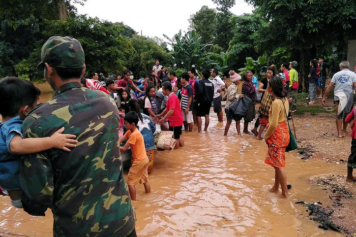 Κατάρρευση φράγματος Λάος: 26 νεκροί, 131 αγνοούμενοι, χωριά κάτω από νερό