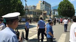 Έκρηξη έξω από την αμερικανική πρεσβεία στο Πεκίνο (βίντεο)